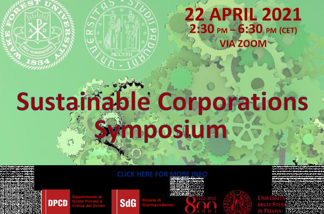 Collegamento a Sustainable Corporations Symposium