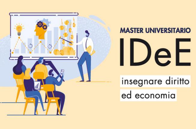 Collegamento a Master IDeE – Insegnare Diritto ed Economia